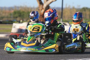 Nathan Tigani secured pole position and two heat race wins in DD2. (Pic: Coopers Photography)