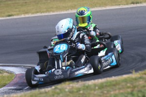 Kai Allen will start from Pole Position in the Mini Max Pre-Final (Pic: Coopers Photography)