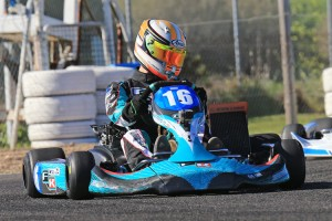 Formula K's Adam Lindstrom will be aiming to secure his Rotax Grand Finals ticket this weekend (Pic: Coopers Photography)