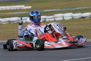 Cody Brewczynski took a convincing win in Junior Max and will now represent Australia (Pic; Coopers Photography)