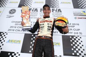 World Karting Champion Paolo De Conto