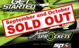 JUNIOR SPROCKETS DAYS SOLD OUT