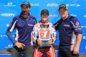 Junior Max's 2016 Rotax MAX Australian Challenge Champion: Cody Brewczynski (Pic: Coopers Photography)