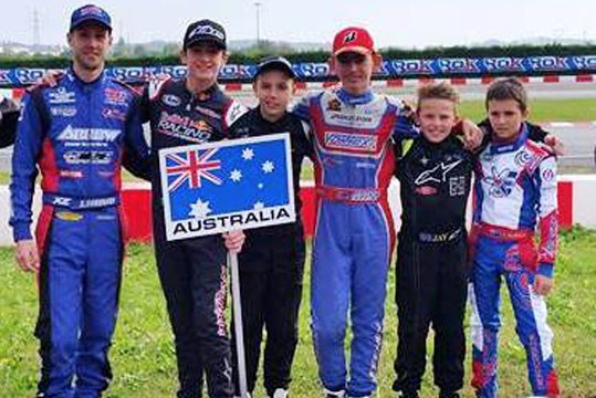 JACK DOOHAN THE BEST OF THE AUSSIES AT ROK FINAL