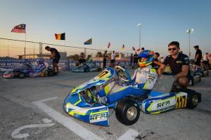 Oscar Piastri on the grid in Bahrain (Pic: KSP)