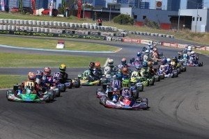 Jay Hanson is leading the way in Junior Max (Pic: Coopers Photography)