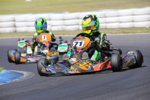 Jonathon Marcusson is the driver to beat in Junior Max Trophy (Pic: Coopers Photography)