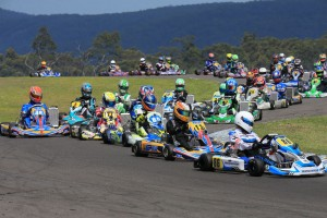 Marc Tulloch leading the X30 field in Newcastle (Pic: Coopers Photography)