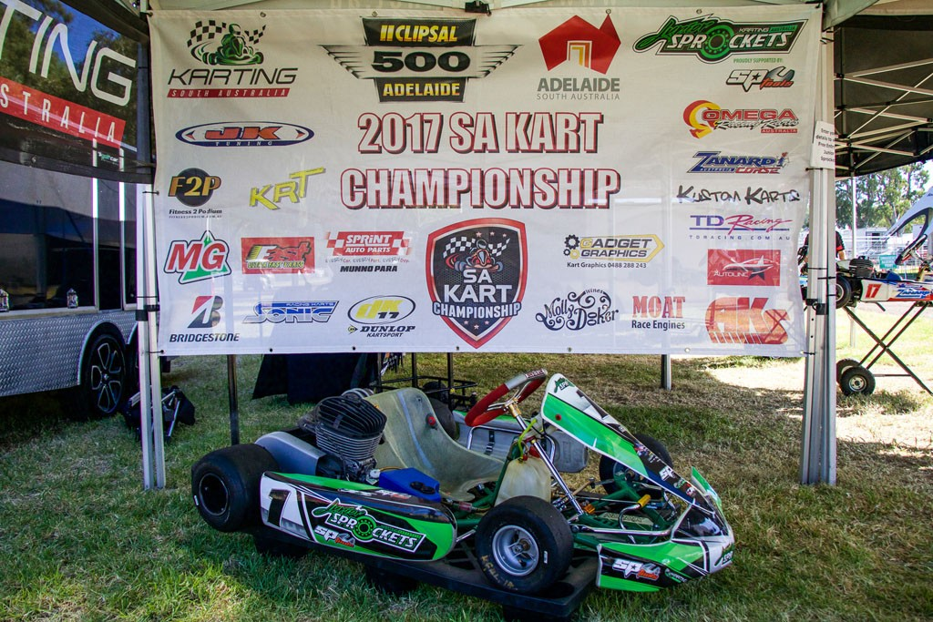 The Clipsal 500 SA Kart Championship kicks off on March 18/19 (Pic: Pace Images)