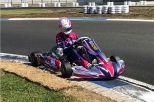Percat believes the challenge of driving the KZ2 machines is a great training regime in between events.