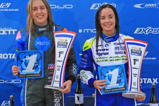 TWO FOR THE GIRLS AT PRO TOUR IN ADELAIDE