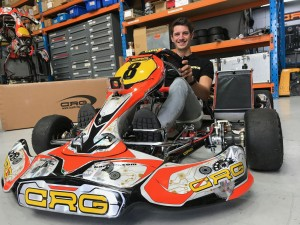 Supercars driver Nick Percat will join CRG Australia for the remainder of the 2017 Australian Kart Championship