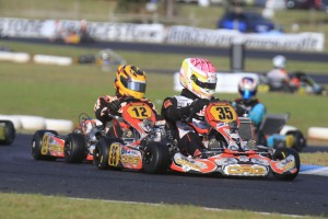 CRG Australia Jason Pringle was victorious in KZ2 (Pic: Coopers Photography)