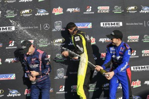 Scuderia PCR Australia driver Kyle Henry-Smith on top of the KA1 podium (Pic: Coopers Photography)