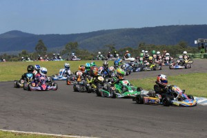 More than 220 entries are expected for Round Three of the 2017 Australian Kart Championship in Monarto (Pic: Coopers Photography)