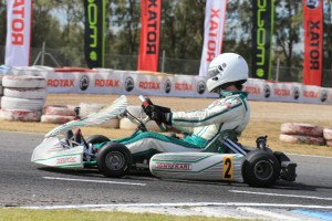 Chris Farkas will be defending his QLD Blue Plate in the Rotax 125 Heavy category (Photo by Coopers Photography)