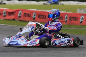Broc Feeney on his way to posting the fastest time in the top five shootout (Pic: Coopers Photography)