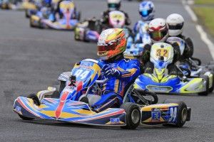 Brad Jenner will lead the Rotax Light field away (Pic: Coopers Photography)