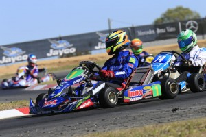 The battle for victory in the 2017 Australian Kart Championship presented by Jayco and Castrol EDGE will go down to the wire in Melbourne this weekend. (Pic: Coopers Photography)