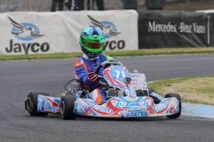 Joshua Fife has wrapped up the Australian KZ2 Championship.