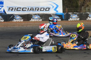 Marijn Kremers will be be back behind the wheel of a Ricciardo kart for the event (Pic: Coopers Photography)