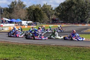 Queenslander Jac Preston leading the Junior Max field (PIc: Coopers Photography)
