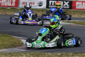 James Wharton has been the pace setter in Mini Max throughout the 2017 Rotax Pro Tour (Pic: Coopers Photography)