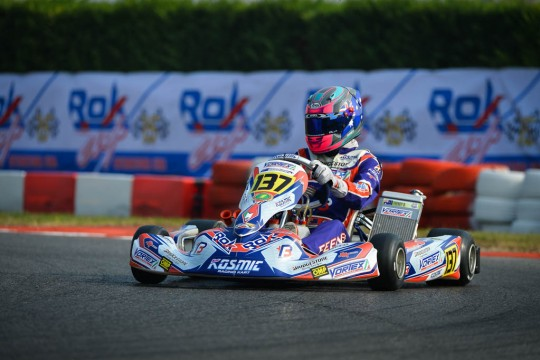 BROC FEENEY FIFTH AT ROK CUP FINAL