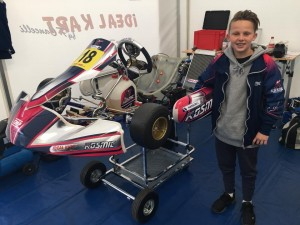 Jay Hanson will be one of five Australian drivers competing at the IAME International Final in France this weekend.