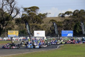 The Australian Kart Championship teams and drivers will converge on the Murray Bridge region next February (Pic: Coopers Photography)