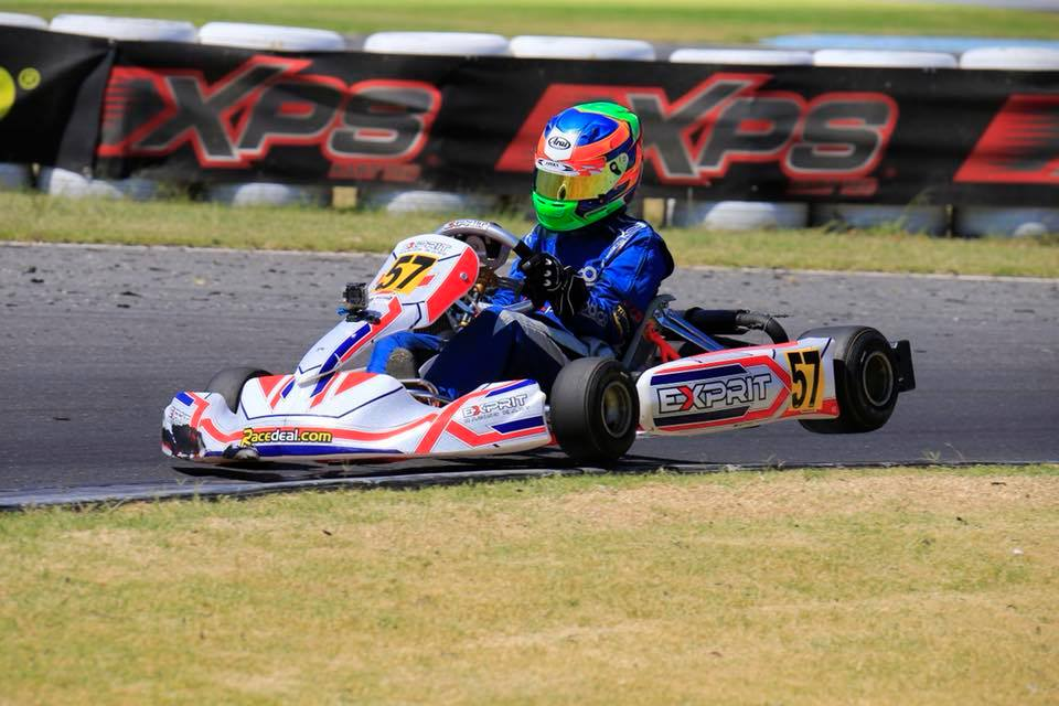 Brodie Whitmore on his way to victory in the Rotax Light Class (Pic: Coopers Photography)