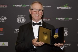 Drew Price was inducted into the Australian Motorsport Hall of Fame in Melbourne