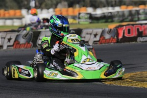Taylah Agius broke through for a maiden heat race win today. (Pic: Coopers Photography)