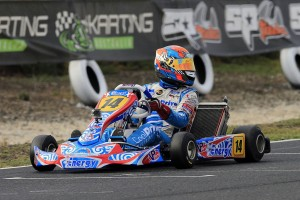Local driver Macauley Jones will be in action at the SP Tools Australian Kart Championship (Pic: Coopers Photography)