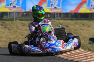 Reigning KZ2 Champion Joshua Fife (Pic: Coopers Photography)