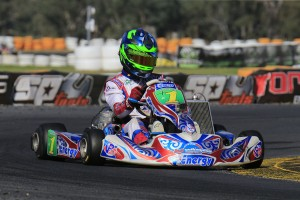 Reigning KZ2 Australian Champion Josh Fife (Pic: Coopers Photography)