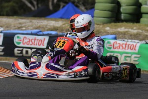KA3 Fastest Qualifier Kurtis Read (Pic: Coopers Photographer)