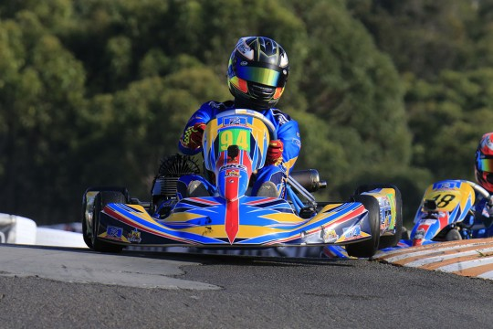 RESULTS FROM AUSTRALIAN KART CHAMPIONSHIP ROUND THREE