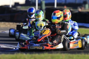 Lane Moore was victorious in Rotax Heavy (Pic: Coopers Photography)