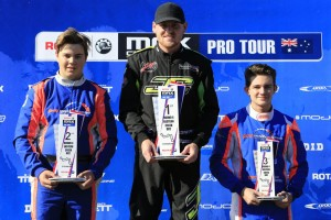 Lucas Ward on the top step of the DD2 Podium (Pic: Coopers Photography)