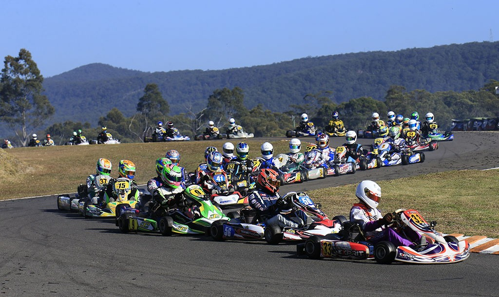 A total of 238 entries have been received for Round Four of the 2018 SP Tools Australian Kart Championship (Pic: Coopers Photography)