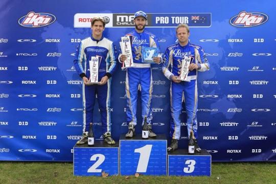 Jurczak closes in on Rotax Light rankings