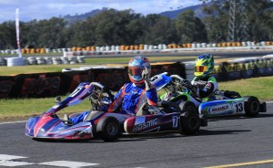 Australia's best karters head to The Bend for historic first event. Photo Coopers Photography