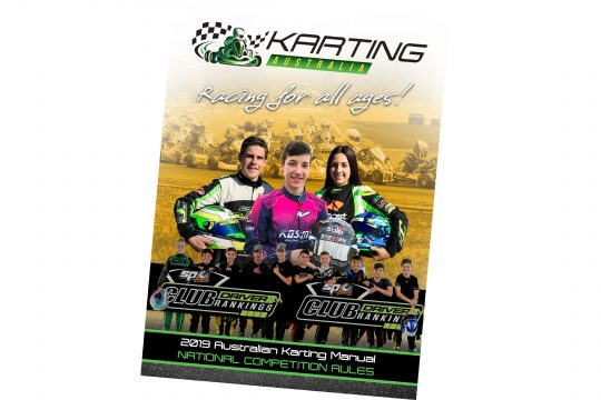 2019 AUSTRALIAN KARTING MANUAL PUBLISHED