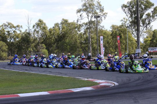 SPARCO ROTAX PRO TOUR SET TO LIGHT UP IPSWICH