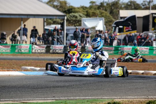 KARTING'S BEST HEADING TO EMERALD