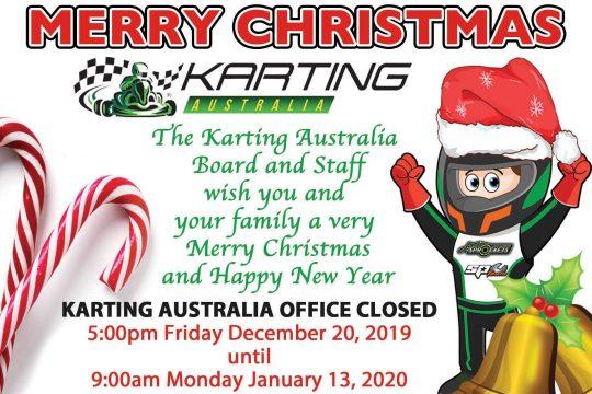 MERRY CHRISTMAS FROM KARTING AUSTRALIA